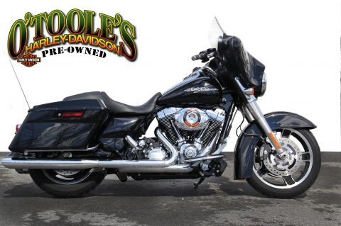 Pre-Owned 2012 Harley-Davidson Touring Street Glide FLHX