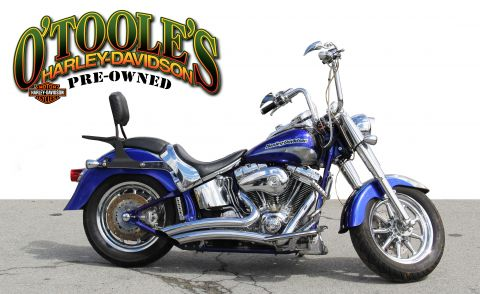 Pre-Owned 2005 Harley-Davidson Softail Fat Boy Screamin Eagle